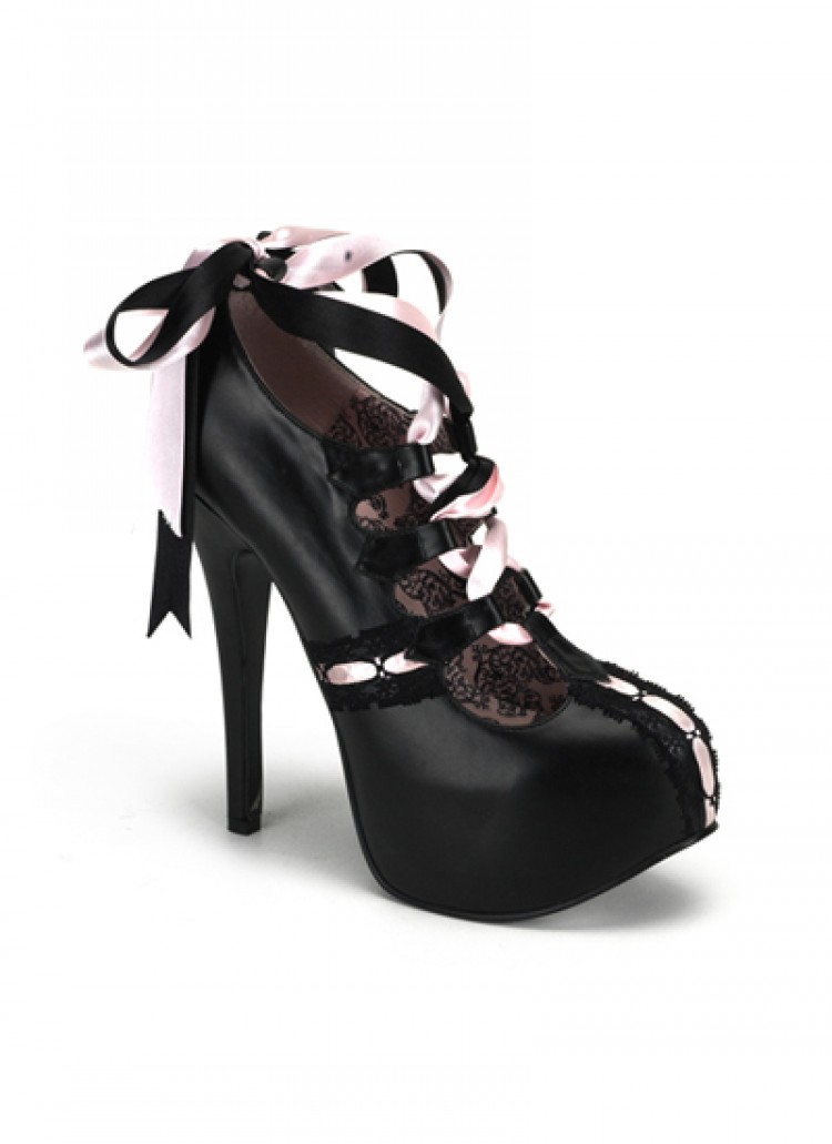 Pink Ribbon Bordello Shoes