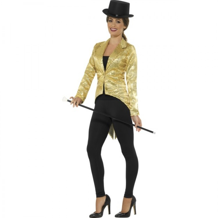 Gold Sequin Tailcoat