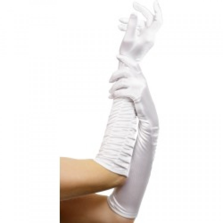White Temptress Gloves
