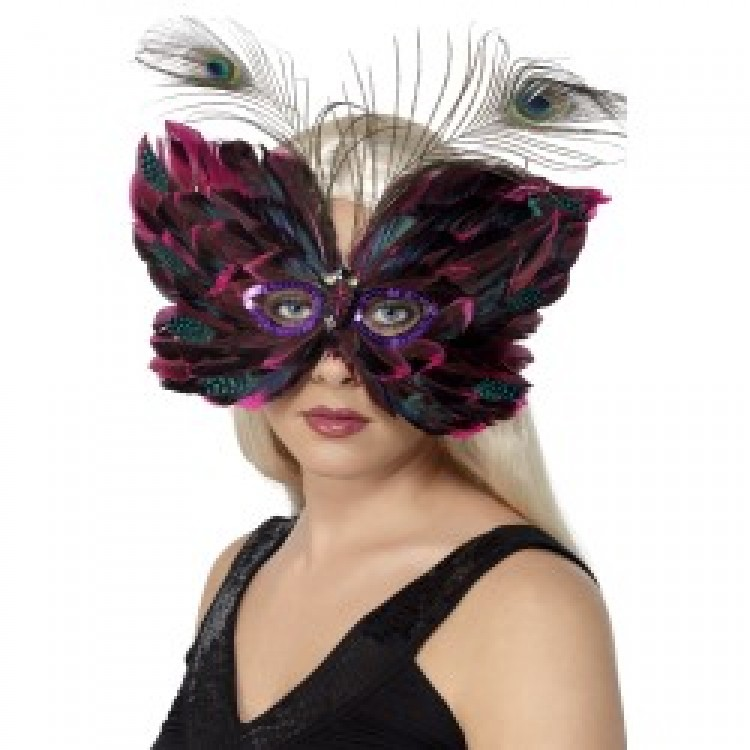 Butterfly Feather Eyemask