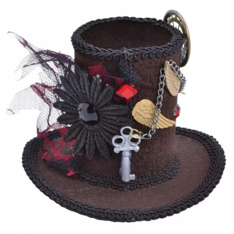 Steam Punk Tall Hat