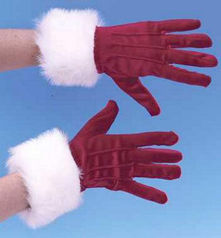 Mrs Claus Gloves