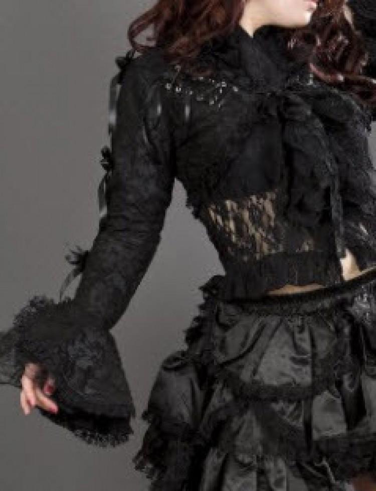 Black Melissa Bolero