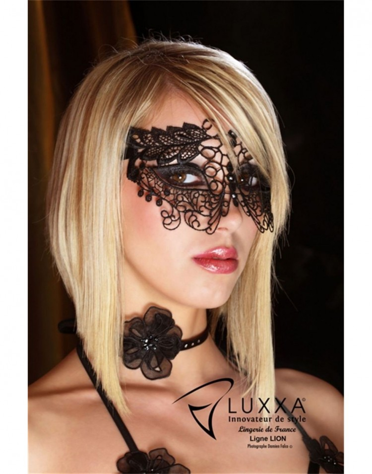 Sexy Black Mask by Luxxa