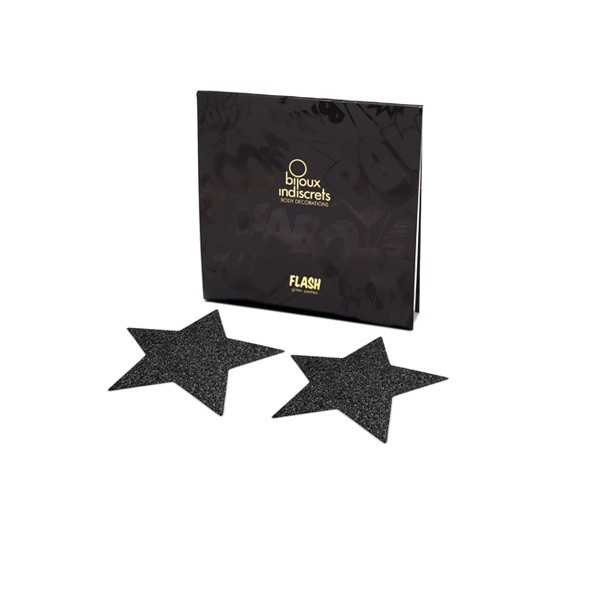 Bijoux Black Star Flash Pasties