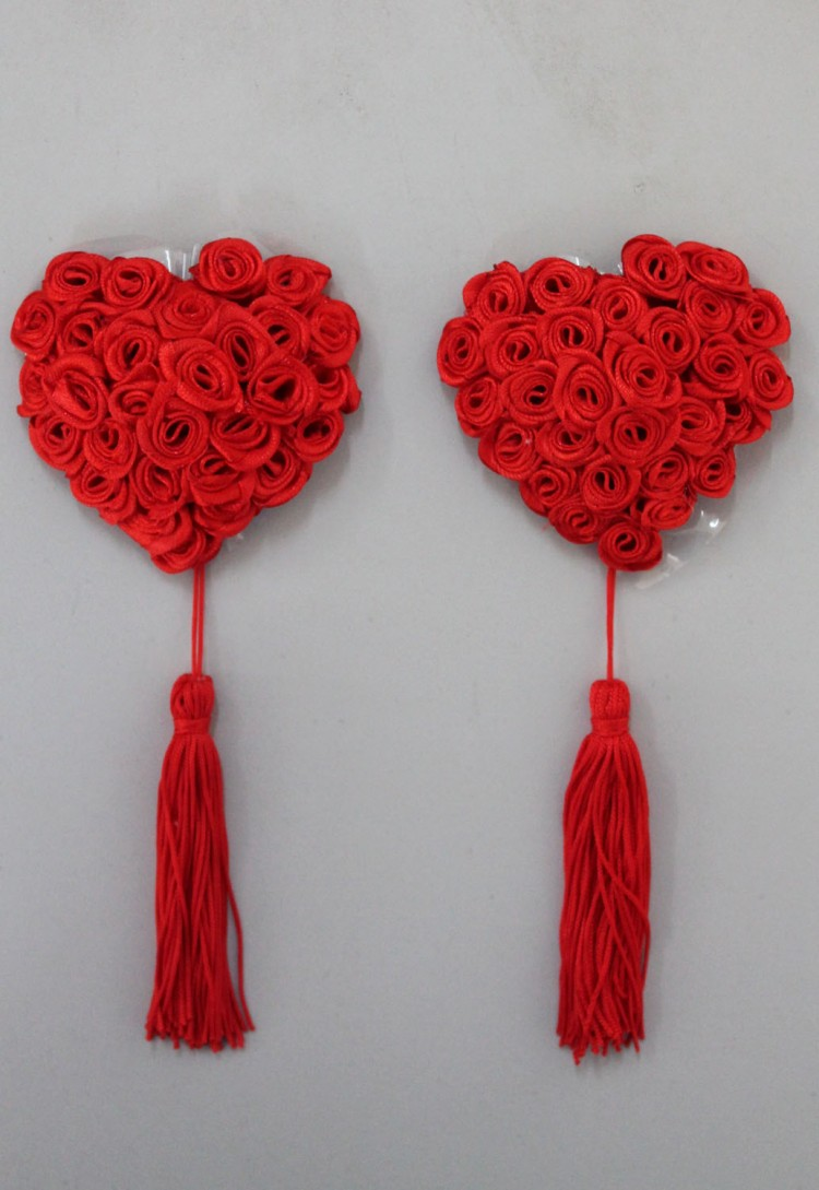 Red Rose Pasties