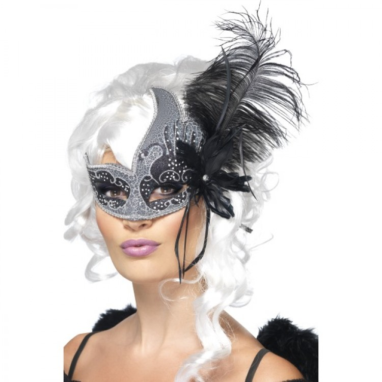 Dark Angel Masquerade Mask