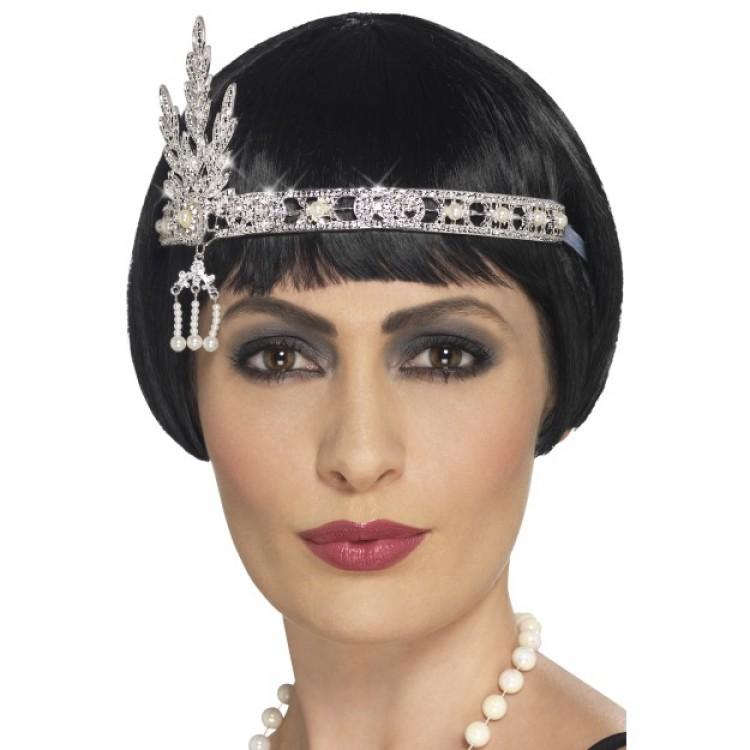 1920's Style Jewel Flapper Headband