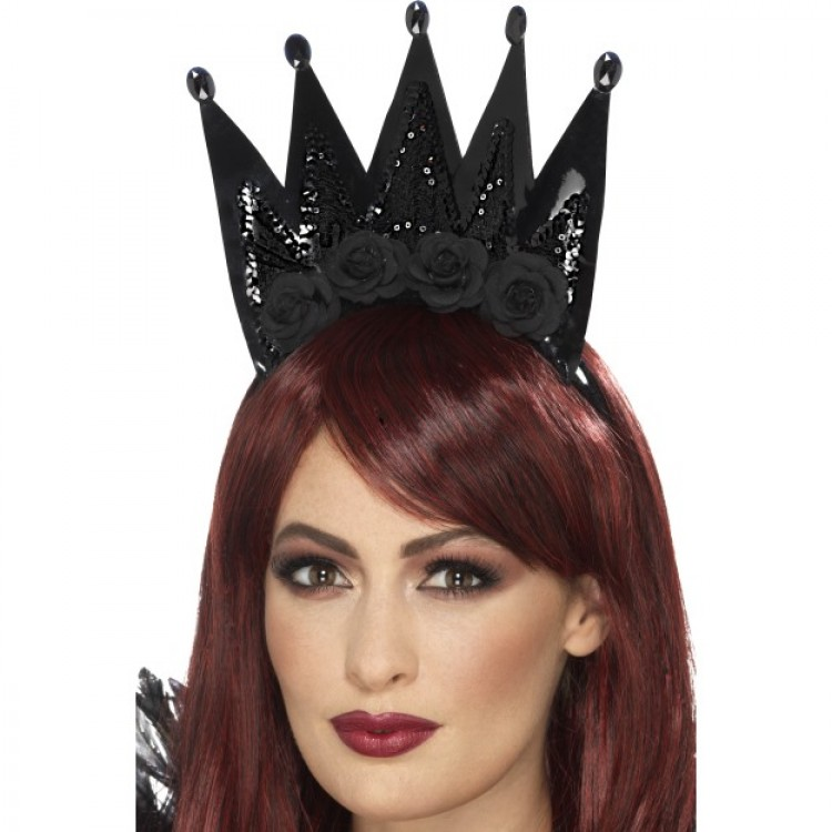 Evil Queen Crown Headband