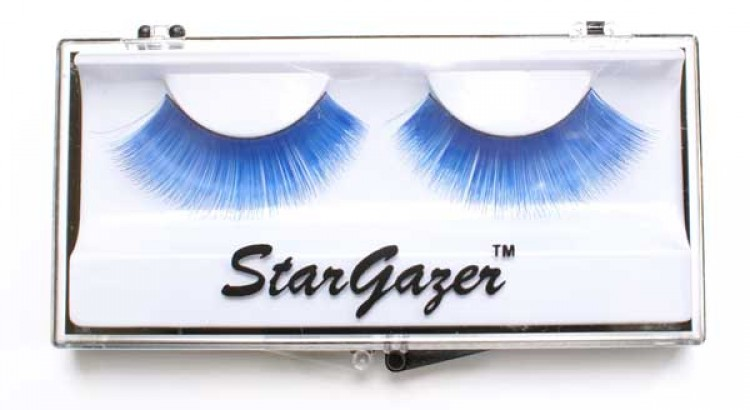 Blue Burlesque Eyelashes