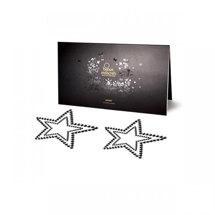 Black Star Nipple Jewellery