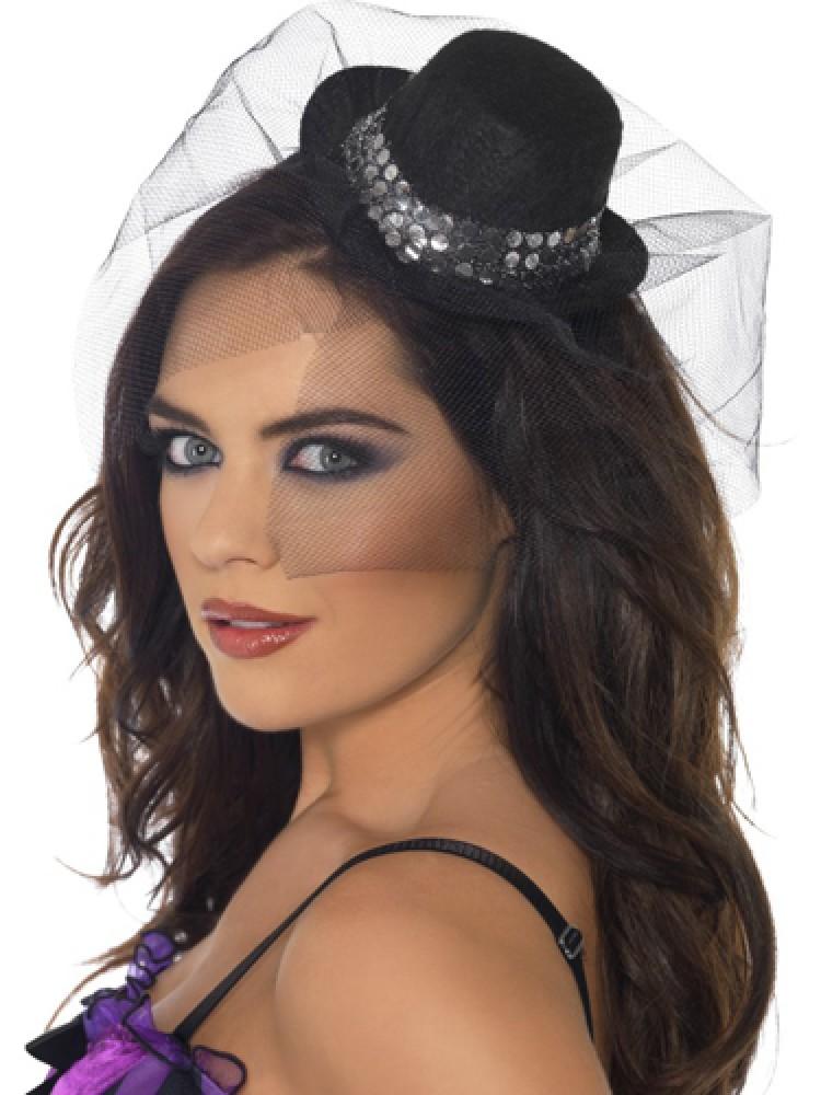 Sequin Mini Top Hat
